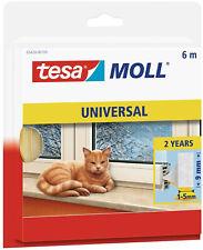 Tesa Moll Universal Fenster Tür Dichtung Dichtungsband 6m x 9mm 05428-00100