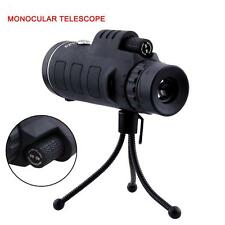1x Super High Power 40X60 Portable HD OPTICS Night Vision Monocular Telescope O✿