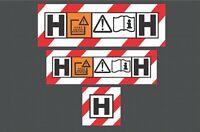 M CLASS VACUUM HOOVER EXTRACTOR Stickers X2 Festool Dewalt Makita Metabo