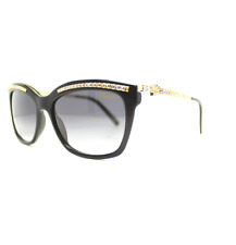 New Chopard Sunglasses SCH211S 700M 55MM Black / Gray Gradient For Women