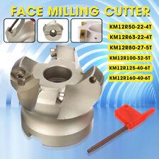 4/5/6 Flutes Fast Feeding Alloy End Mill CNC Machining Slab Face Milling Cutter