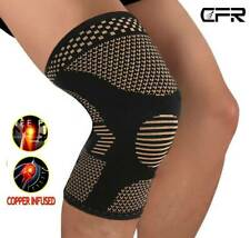 COPPER Knee Support Patella Stabilizer Strap Band Tendon Brace Pain Sports Joint