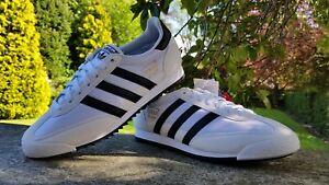Adidas Originals Mens Dragon Fashion Trainers Black White BNIB Size UK 6 & 6.5