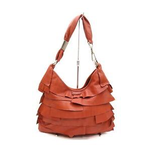 Yves Saint Laurent Hand Bag  Browns Leather 1729491