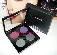 MAC Cosmetics Eye Shadow Quad X 4 Palette Case EVIL EYE **LIMITED**NIB