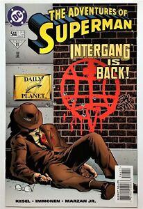 Adventures of Superman #544 (Mar 1997, DC) NM