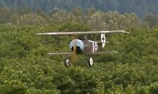 1/6 Scale German WW-I Fokker D. VI Biplane Plans, Templates, Instructions 50ws