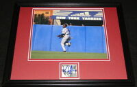 Kenny Lofton Signed Framed 11x14 Photo Display Indians