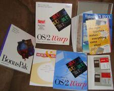 IBM OS/2 WARP version 3 DOS/Windows software+User's Guide/manual/discs/box