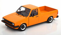 VOLKSWAGEN CADDY TRUCK ORANGE 1:18 SCALE MODEL CLASSIC DIECAST LOVELY DETAIL NEW