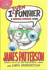 I EVEN FUNNIER #2 James Patterson HARDCOVER New BOOK Middle SCHOOL Grades 3 - 7