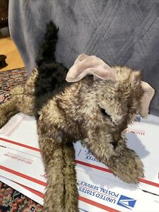 Folkmanis Airedale Terrier Dog Puppet (Retired in 2020)