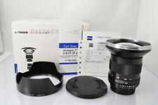 [MINT+]Carl Zeiss Distagon T* 21mm F/2.8 ZF.2 Lens for Nikon w/Box #1173