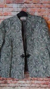 riddella grey jacket size 20