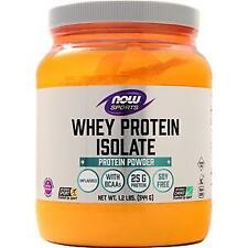 Now Whey Protein Isolate Unflavored 1.2 lbs