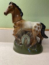 Vintage Jim Beam 1974 Appaloosa Horse Decanter