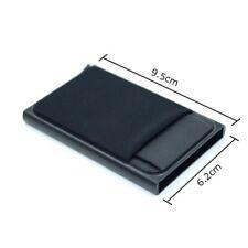 RFID Blocage Portefeuille Porte-Cartes, en Aluminium, Automatique Pop-up, Design