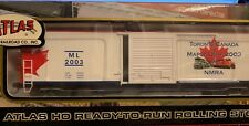 ATLAS NMRA-02 50' Precision Design Box Car ML 2003 NIB