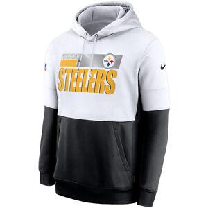 2020 Nike Pittsburgh Steelers Sideline Impact Lockup Performance Pullover Hoodie
