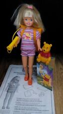 Linterna de 1997 Diversión Stacie Y Winnie Pooh Muñeca con Caja Original