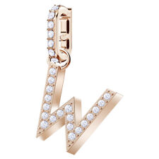 Swarovski 5440422 Remix Charm Rose Gold Plated - Letter W RRP$39