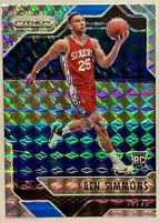 BEN SIMMONS 2016-17 Panini Prizm Mosaic Silver Prizm Rookie RARE  RC 🔥HOT MINT