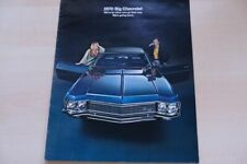 216185) Chevrolet Caprice - Impala - USA - Prospekt 1970