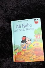 Disney's Wonderful World of Reading Book Ali Baba And The 40 Thieves 1st Edition