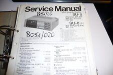 Service Manual for Technics SU-8 Original