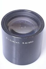 SCHNEIDER C-CLARON 250MM 5.6 COPYING LENS. CAN ALSO BE USED ON LARGE FORMAT