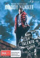 Talento De Barrio (DVD, 2011)Daddy Yankee*R4*Like New