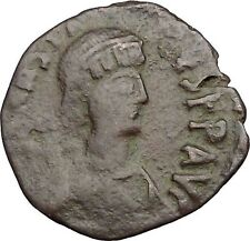 Anastasius I 491AD Large  Ancient Authentic  Medieval Byzantine Coin i39420