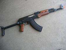 Double Eagle (DE) AK-47S Metal Electric AEG Airsoft Rifle Gun Folding Stock