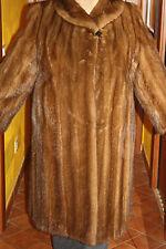 Pelliccia cappotto giacca visone mink fur jacket coat pelzmantel nerz fourrure