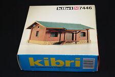 W121 KIBRI Train N Maquette 7446 Hangara marchandise 8,5*6,5*5 cm diorama