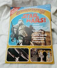 1977 Science Fantasy Film Classics Magazine #1- Star Wars Special Issue (M5895)