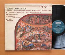 ZK 6 Haydn Concertos Tuckwell Preston Marriner Argo Stereo NM/EX