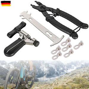 9 In 1 Fahrrad Link Kettenschloss-Zange Ketten Werkzeug Prüfer Fahrrad Reparatur