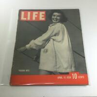 Vintage Life Magazine: April 11 1938 - Fashion Note