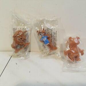 Vintage NIP Post Cereal Premium Sugar Bear Golden Crisp Prize Figure Toys, 1988