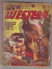New Western May 1946 Pulp Philip Ketchum Giff Cheshire Bob Obets Burlingham
