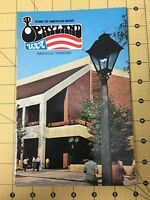 Vintage Brochure Home of American Music Opryland USA Nashville TN 1982 Guidebook