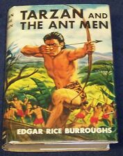 TARZAN & the ANT MEN Edgar Rice Burroughs G&D 1950 ADVENTURE STORIES FOR BOYS