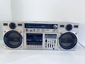 Vintage 1980s Stereo Radio Cassette Recorder Pye TR2894 Mini Compo Boom Box