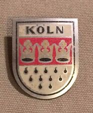 Koln (Germany) Car Grille Grill Badge - Vintage City Travel Souvenir