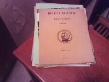 Boellmann: Elevation, complete, organ (Ashdown)