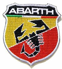 ABARTH FIAT Spider Logo Patch Iron on Bag Cap Jacket T shirt Badge Sign Emblem
