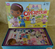 Doc McStuffins Operation Board Game : Can U FIX the BOO BOOS :Complete 100%