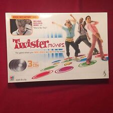Twister Moves Family Board Game MB Milton Bradley Jesse McCartney NEW MIB 2005