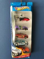 Hot Wheels 2012 Police Pursuit 5pack Charger Sky Knife Eclipse SpeedTrap Tantrum
